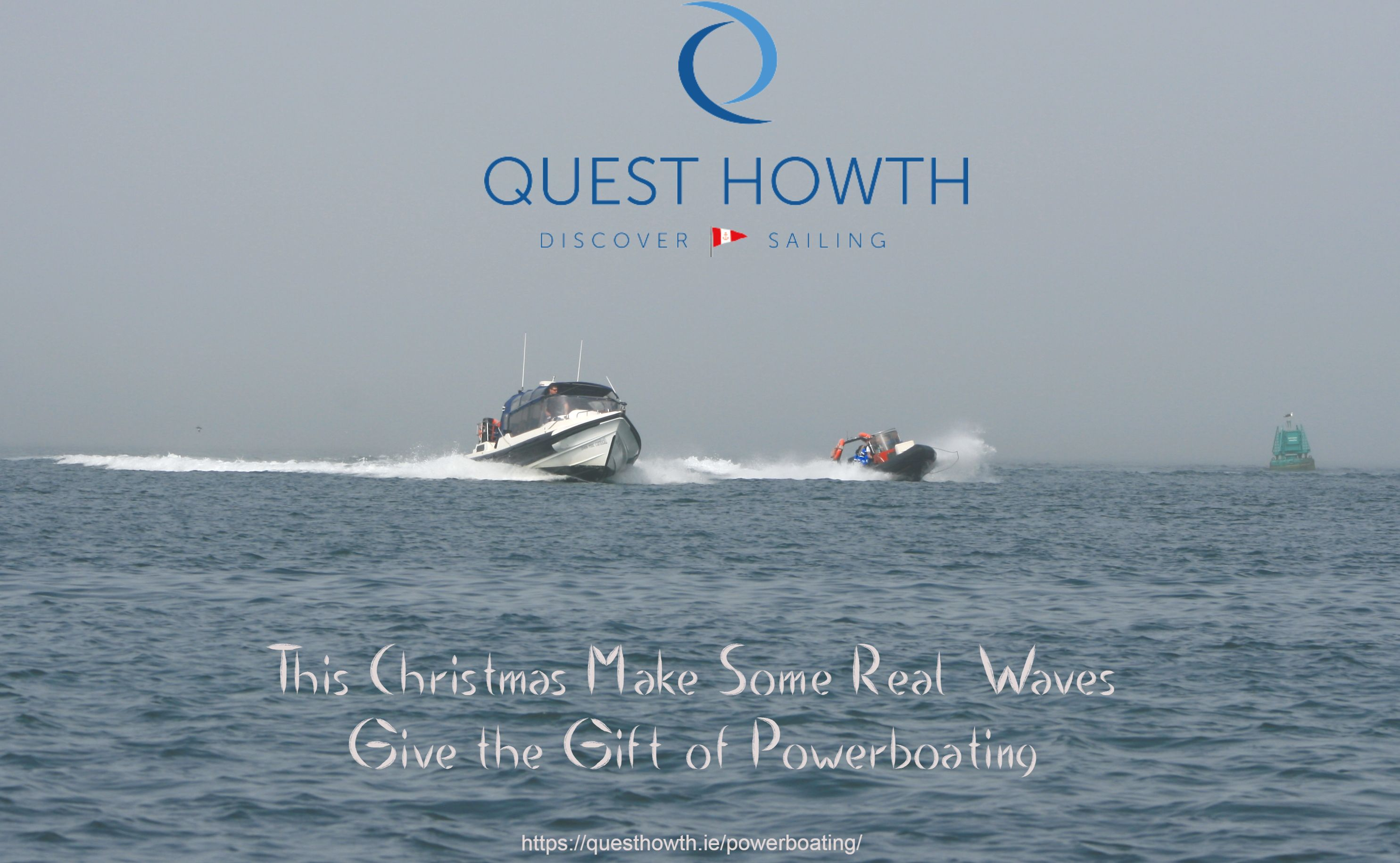 This Christmas Give the Gift of Powerboating in Howth!