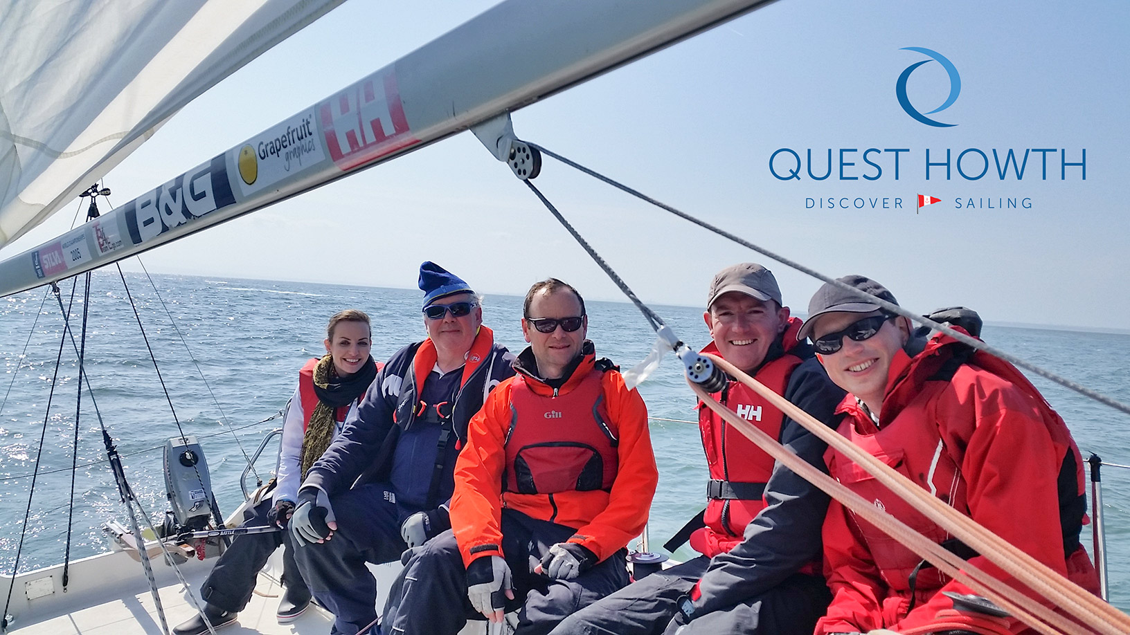 Corporate Sailing With Quest Howth - Discover Sailing
