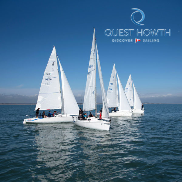 Quest Howth's Try Sailing courses for adults.
